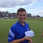 Calum Hill played in Scottish Open!